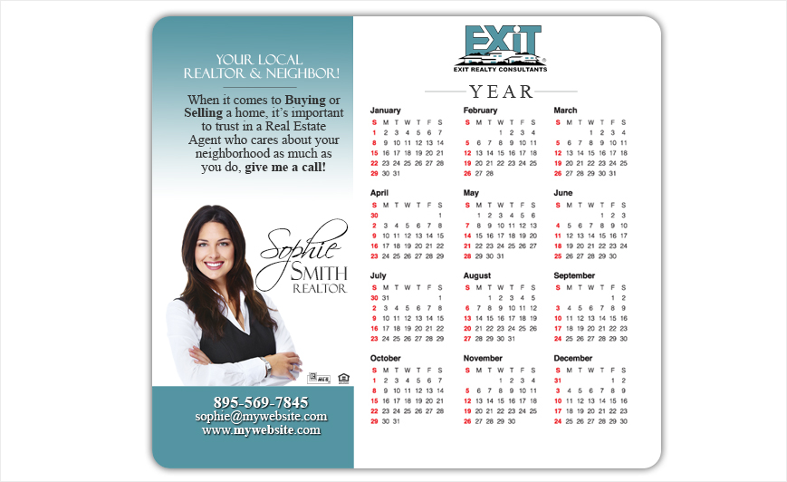 Exit Realty Calendar Magnets | Exit Realty Calendar Magnet Templates, Exit Realty Calendar Magnet Printing, Exit Realty Calendar Magnet Ideas