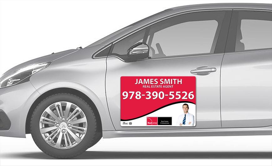 Real Living Car Magnets | Real Living Car Magnet Templates, Real Living Car Magnet Printing, Real Living Car Magnet Ideas