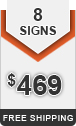 ○ Add 8 Signs