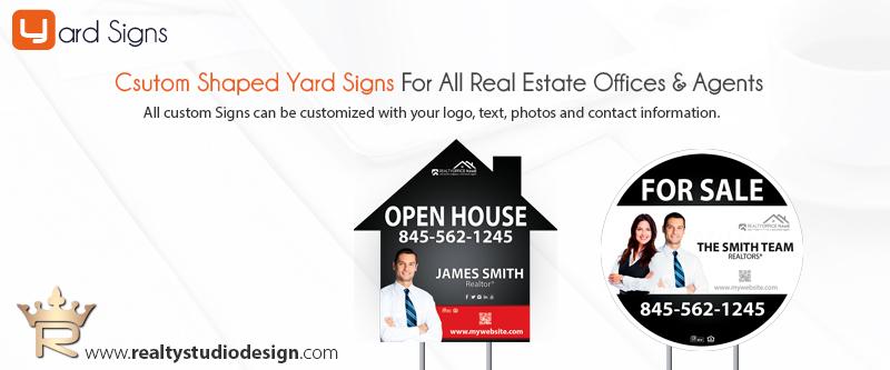 Custom Shaped Realtor Signs | Custom Shaped Real Estate Signs, Custom Shaped Yard Signs, Custom Shaped Signs, Custom Shaped Real Estate Agent Signs