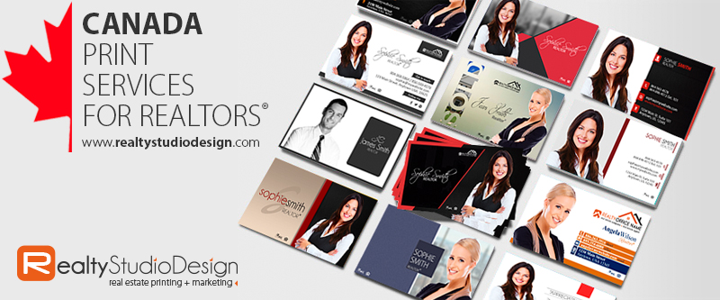 Canada Realtor Business Cards | Canada Real Estate Business Cards, Canada Broker Business Cards, Canada Real Estate Agent Business Cards