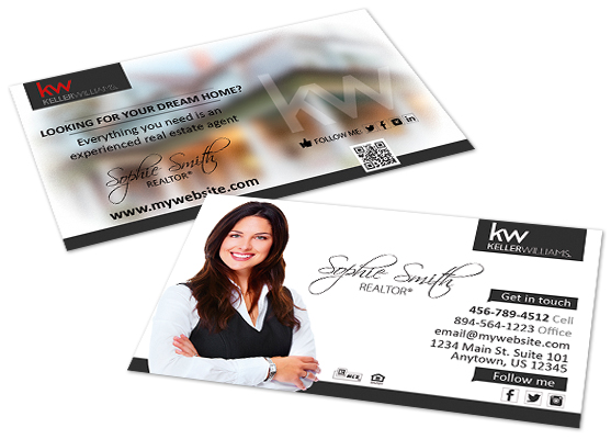 Keller Williams Business Cards