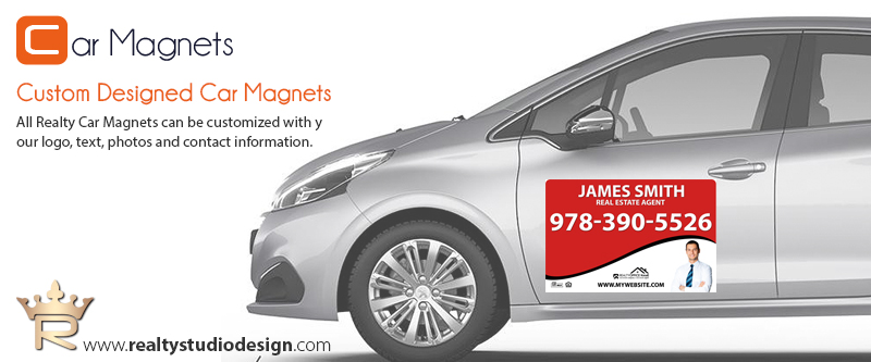 Real Estate Car Magnet Templates | Realtor Car Magnet Templates, Real Estate Agent Car Magnet Templates, Real Estate Broker Car Magnet Templates