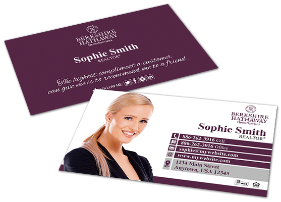 Berkshire Hathaway Business Cards Berkshire Business Card Templates