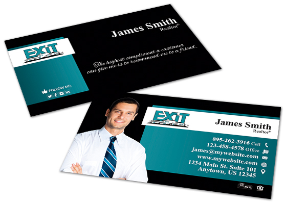 Exit Realty Business Cards | Exit Realty Business Card Templates, Exit Realty Business Card designs, Exit Realty Business Card Printing, Exit Realty Business Card Ideas