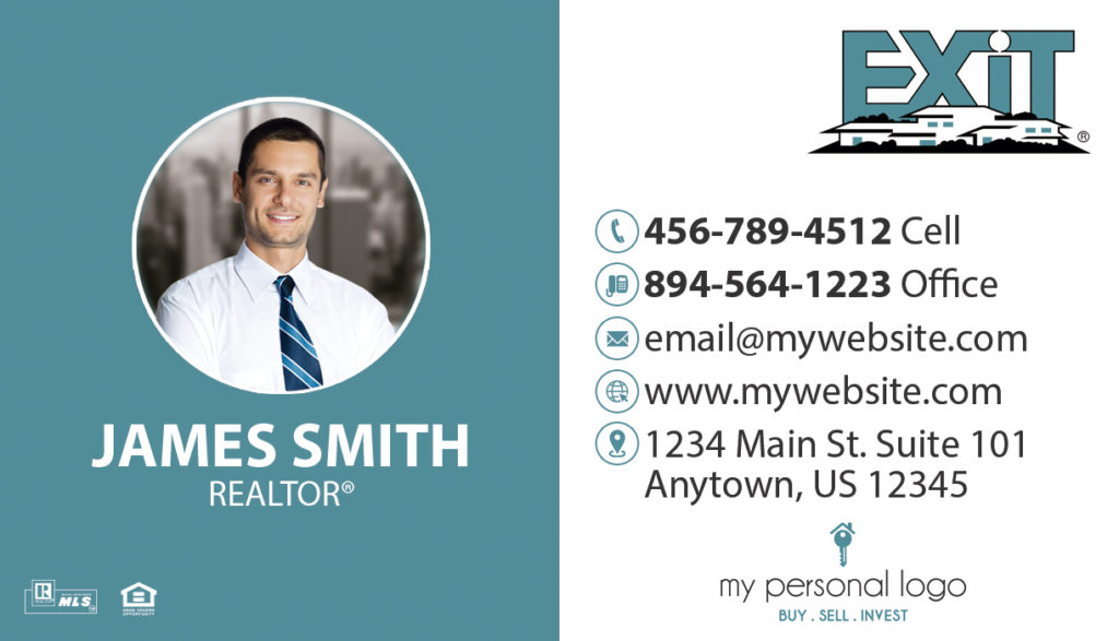 Exit Realty Cards, Exit Realty Business Cards, Exit Realty Agent Cards, Exit Realty Broker Cards, Exit Realty Realtor Cards