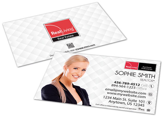 Real Living Business Cards | Real Living Business Card Templates, Real Living Business Card designs, Real Living Business Card Printing, Real Living Business Card Ideas