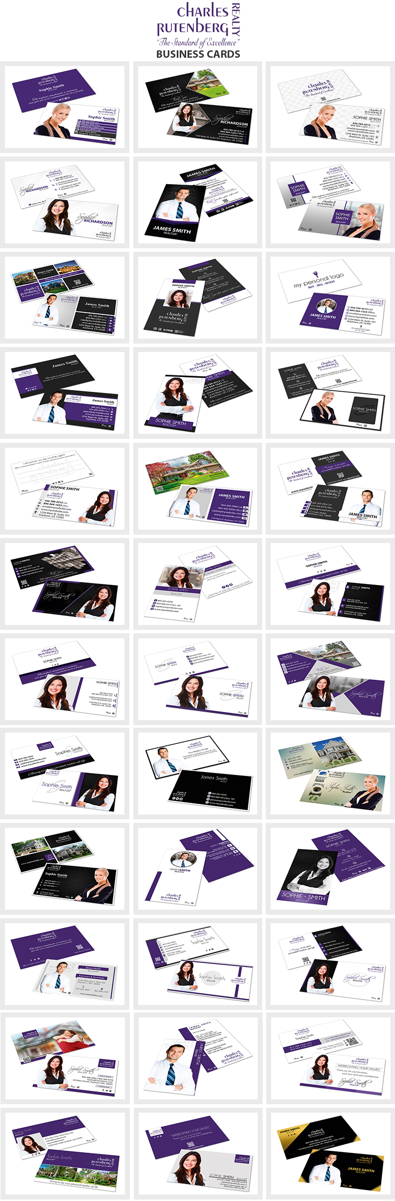 Charles Rutenberg Business Card Templates | Charles Rutenberg Business Card, Charles Rutenberg Cards, Modern Charles Rutenberg Business Cards