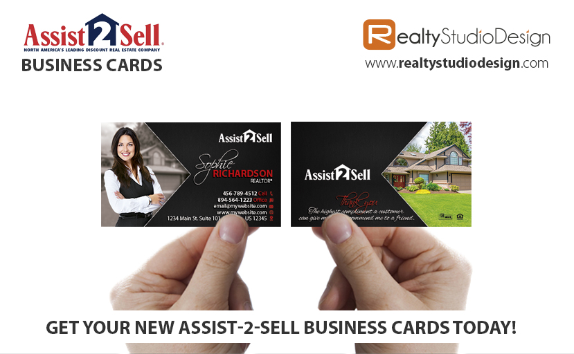 Assist-2-Sell Real Estate Cards, Assist-2-Sell Realtor Cards, Assist-2-Sell Agent Cards, Assist-2-Sell Broker Cards, Assist-2-Sell Office Cards
