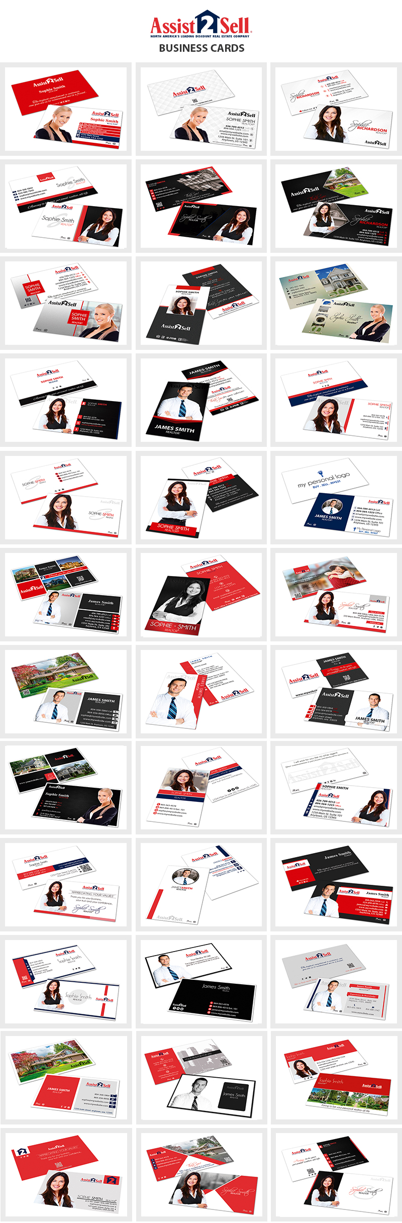 Assist-2-Sell Card Templates | Assist-2-Sell Cards, Modern Assist-2-Sell Cards, Assist-2-Sell Card Ideas, Assist-2-Sell Card Printing