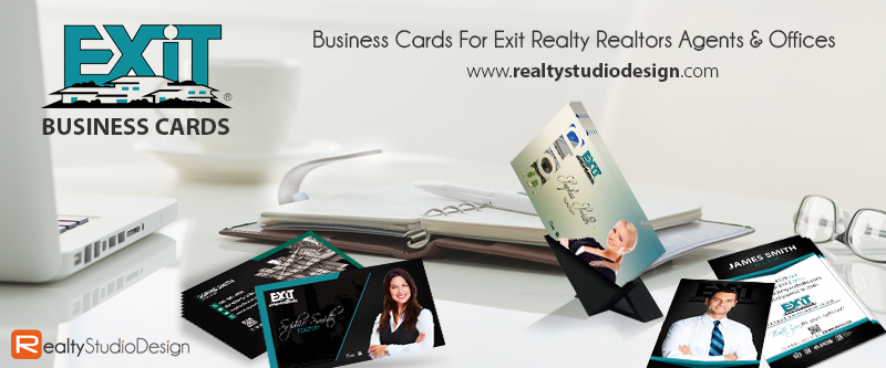 Exit Realty Card Templates | Exit Realty Cards, Modern Exit Realty Cards, Exit Realty Card Ideas, Exit Realty Card Printing