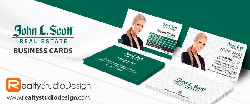 John L Scott Real Estate Cards | John L Scott Real Estate Business Cards, Modern John L Scott Cards, John L Scott Card Ideas, John L Scott Card Printing