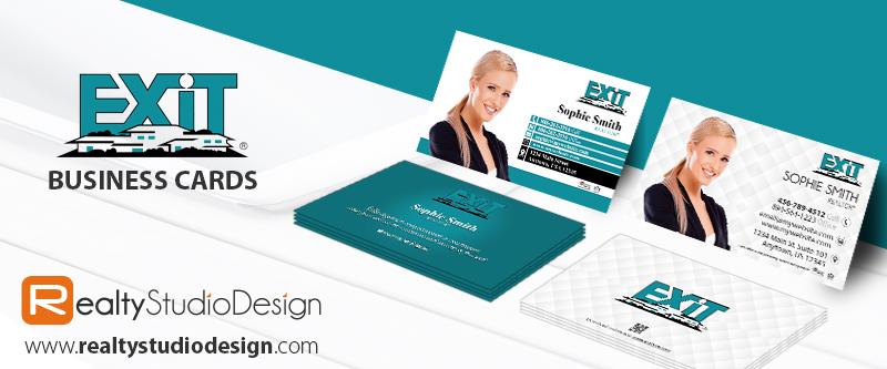 Exit Realty Cards | Exit Realty Realtor Cards, Exit Realty Agent Cards, Exit Realty Broker Cards, Exit Realty Office Cards, Exit Realty Printing