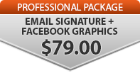 ○ Add Email Signature & Facebook Graphs