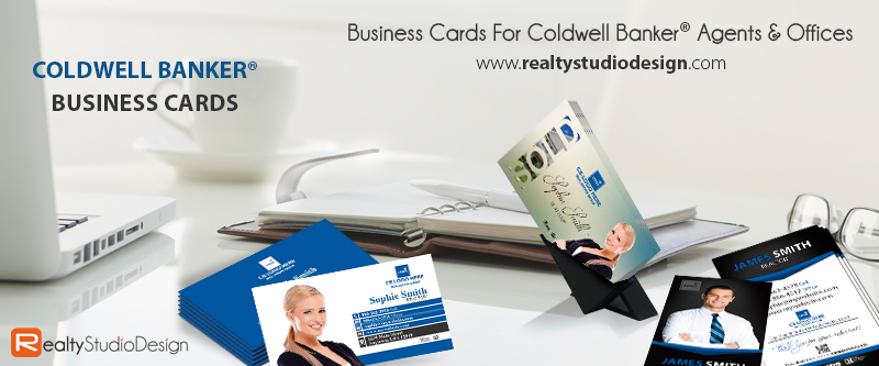 Coldwell Banker Real Estate Business Cards, Coldwell Banker Realtor Business Cards, Coldwell Banker Agent Cards, Coldwell Banker Broker Business Cards