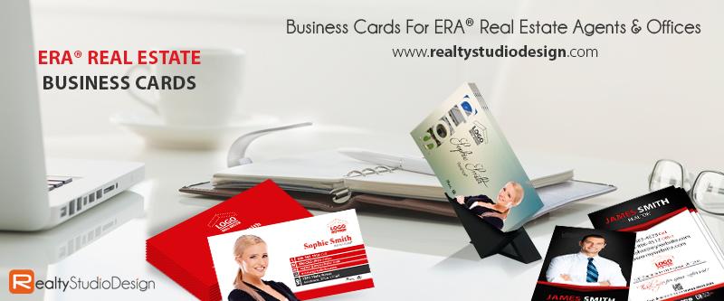 ERA Real Estate Business Cards, ERA Realtor Business Cards, ERA Broker Business Cards, ERA Real Estate Agent Business Cards, ERA Real Estate Office Business Cards