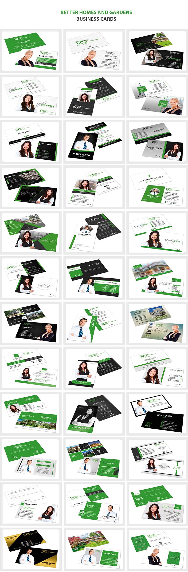 Better Homes Gardens Business Cards, Better Homes Gardens Realtor Business Cards, Better Homes Gardens Broker Business Cards, Better Homes Gardens Agent Business Cards, Better Homes Gardens Office Business Cards