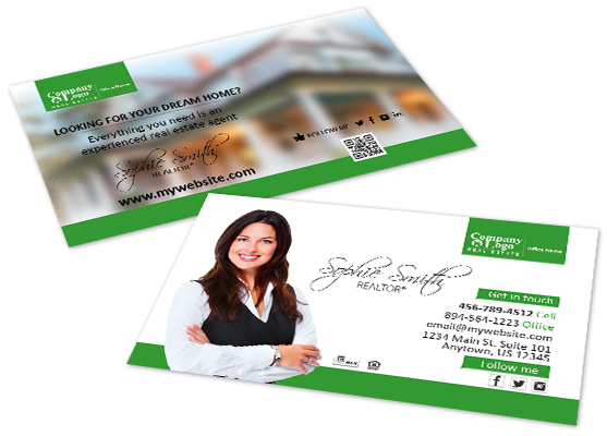 Better Homes and Gardens Business Cards | Better Homes and Gardens Business Card Templates, Better Homes and Gardens Business Card designs Printing Ideas